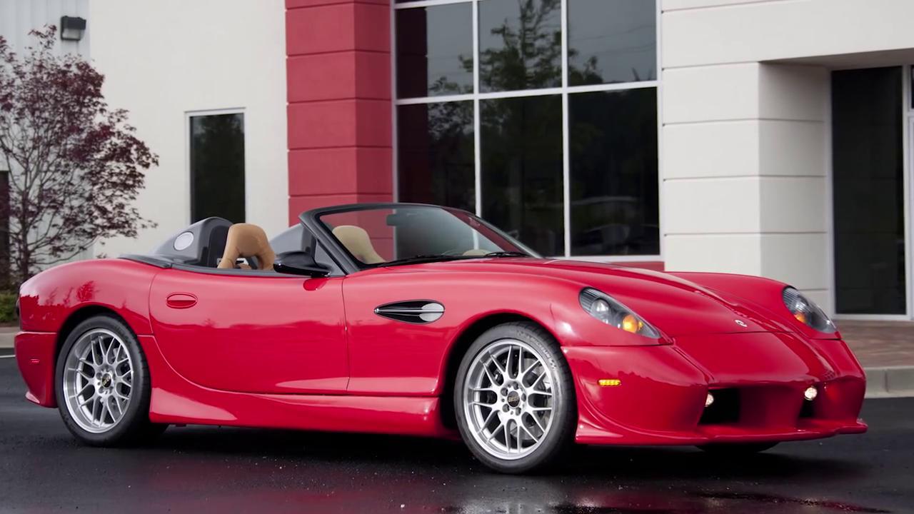 Panoz Esperante Spyder GT Prototype featured in Jay Leno's Garage